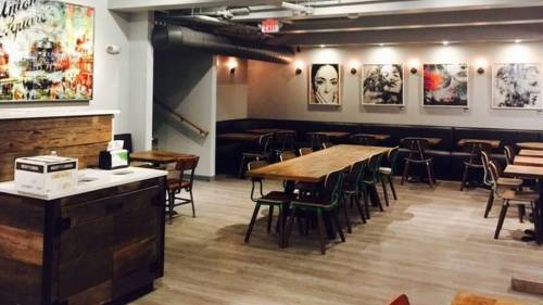 A photo of a Yaymaker Venue called NU Kitchen located in Somerville, MA