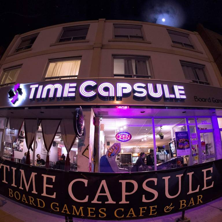A photo of a Yaymaker Venue called Time Capsule Board Game Cafe - Danforth located in Toronto, ON