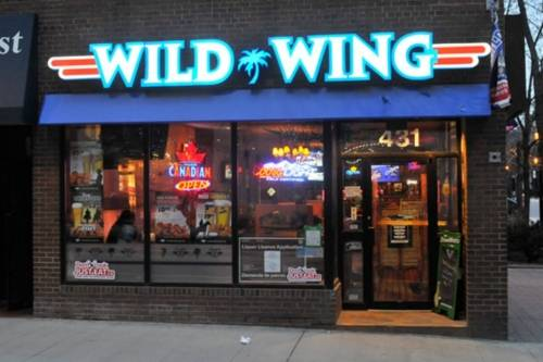 A photo of a Yaymaker Venue called Wild Wing - Yonge and College located in Toronto, ON