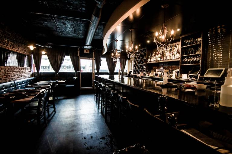 A photo of a Yaymaker Venue called Tapa Vino located in Edmonton, AB