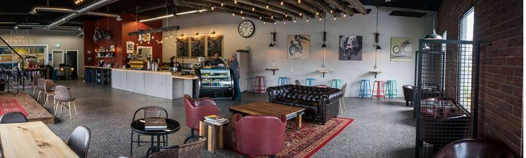 A photo of a Yaymaker Venue called Noxcuses Cafe located in Parksville, BC
