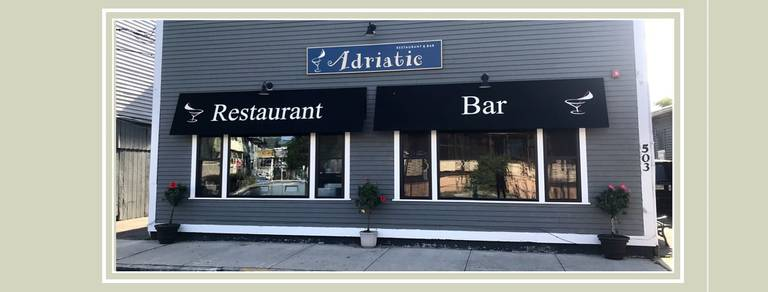 A photo of a Yaymaker Venue called Adriatic Restaurant & Bar located in Winthrop, MA
