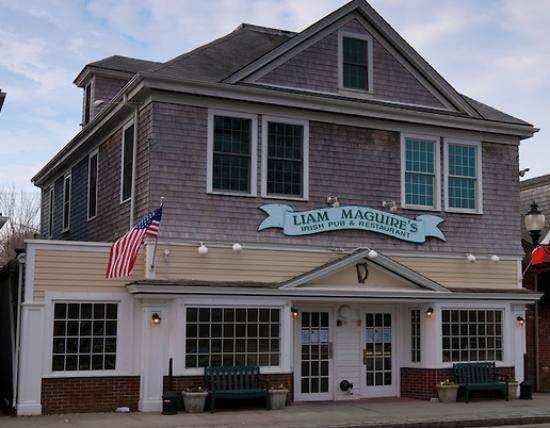 A photo of a Yaymaker Venue called Liam Maguire's Irish Pub & Restaurant located in Falmouth, MA