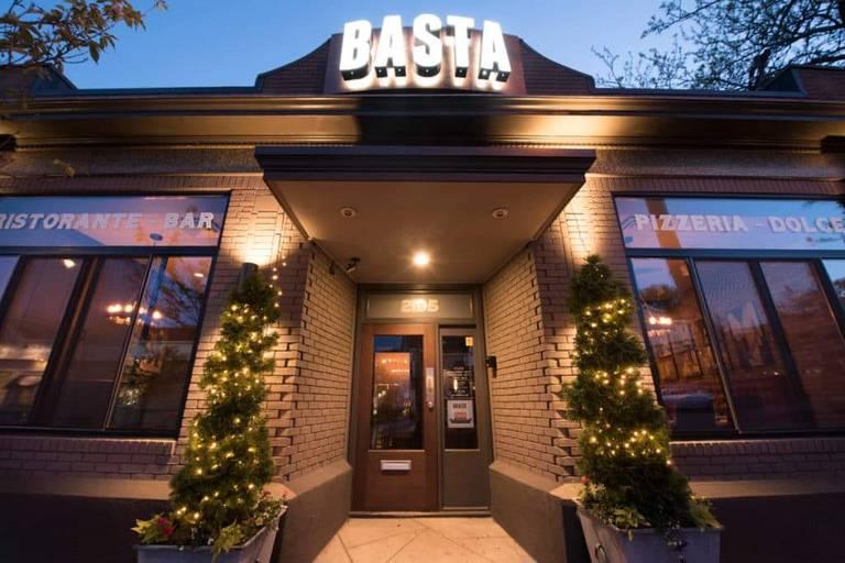 A photo of a Yaymaker Venue called Basta Italian restaurant located in Cranston , RI