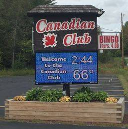 A photo of a Yaymaker Venue called The Canadian Club located in Barre, VT