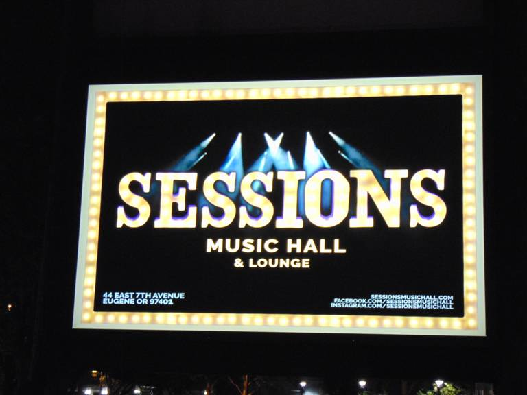 A photo of a Yaymaker Venue called Sessions Music Hall located in Eugene, OR