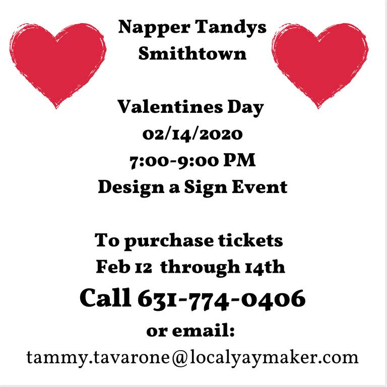 A photo of a Yaymaker Venue called NAPPER TANDYS- SEATS AVAILABLE SEE EVENT INFO located in Smithtown, NY