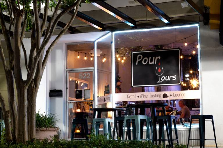 A photo of a Yaymaker Venue called Pour Yours Wine Bar located in Clearwater, FL