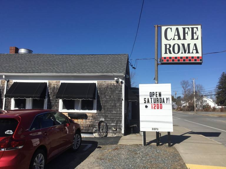 A photo of a Yaymaker Venue called Cafe Roma located in New Bedford, MA