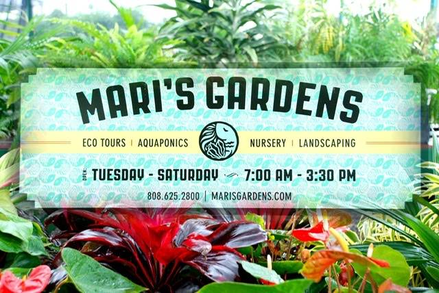 A photo of a Yaymaker Venue called Mari's Gardens located in Mililani, HI
