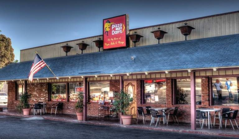 A photo of a Yaymaker Venue called PizzaMan Dan's Ventura located in Ventura, CA