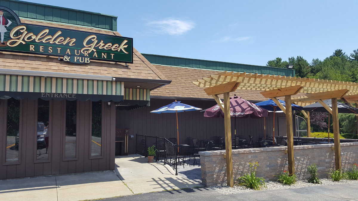 A photo of a Yaymaker Venue called Golden Greek located in Dayville , CT