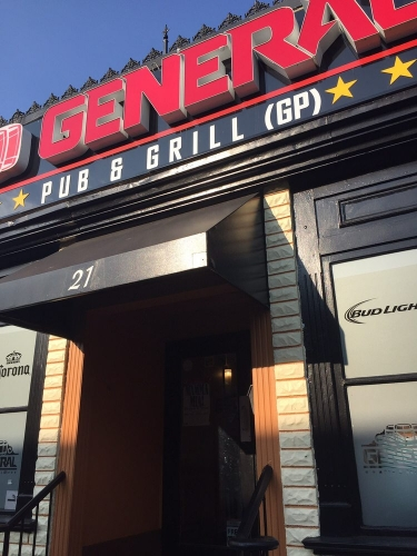A photo of a Yaymaker Venue called The General Pub and Grill located in Oshawa, ON