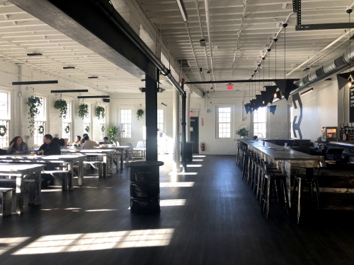 A photo of a Yaymaker Venue called Backlash Beer Company located in Roxbury, MA
