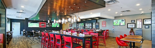 A photo of a Yaymaker Venue called Burger Theory - Holiday Inn located in Calgary, AB