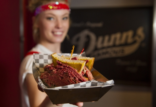 A photo of a Yaymaker Venue called Dunn's Famous Restaurant located in Vancouver, BC