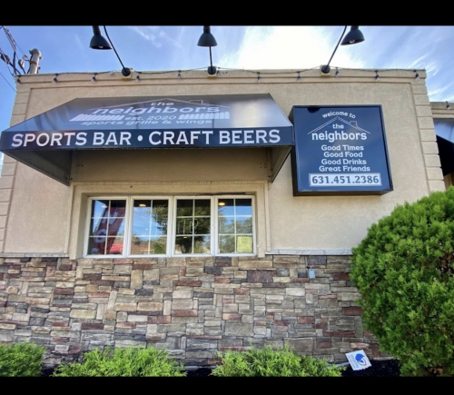 A photo of a Yaymaker Venue called The Neighbors Sports Bar & Grille located in Selden, NY