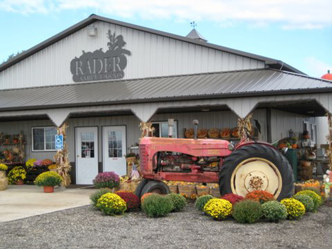 A photo of a Yaymaker Venue called Rader Family Farms located in Normal, IL