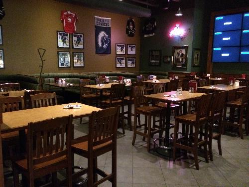 A photo of a Yaymaker Venue called Boston Pizza Esplanade North Van located in North Vancouver, BC