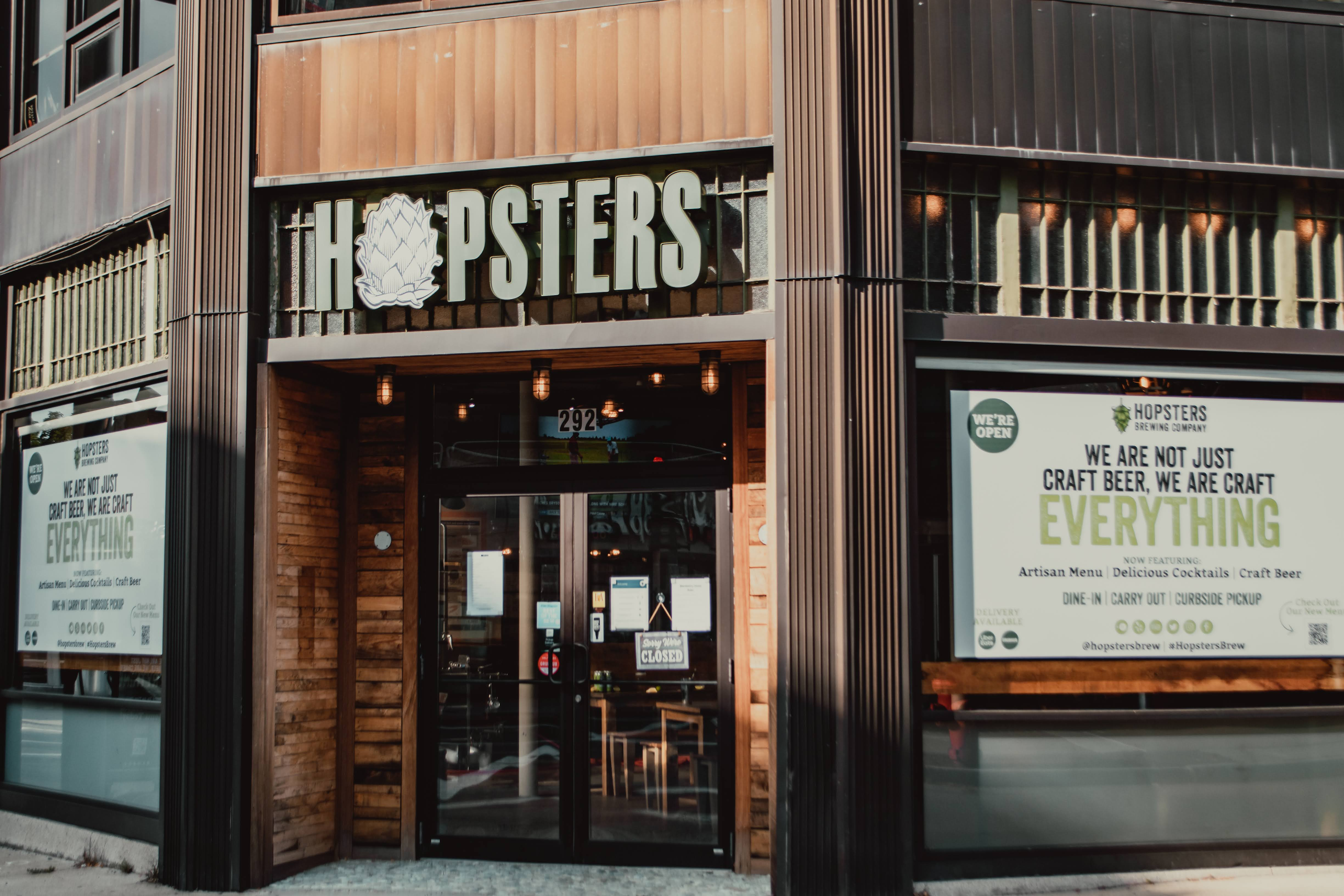 A photo of a Yaymaker Venue called Hopsters Brewing Company located in Newton, MA