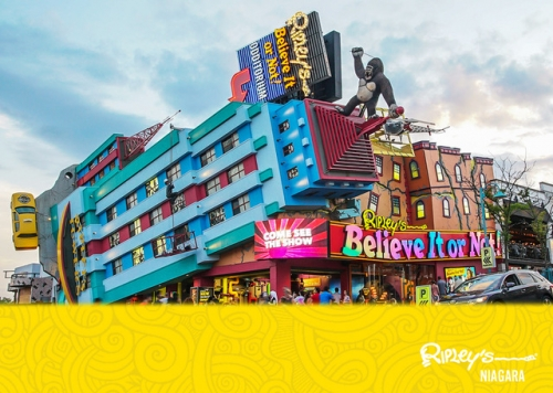 A photo of a Yaymaker Venue called Ripley's Believe It Or Not! - Niagara located in Niagra, ON