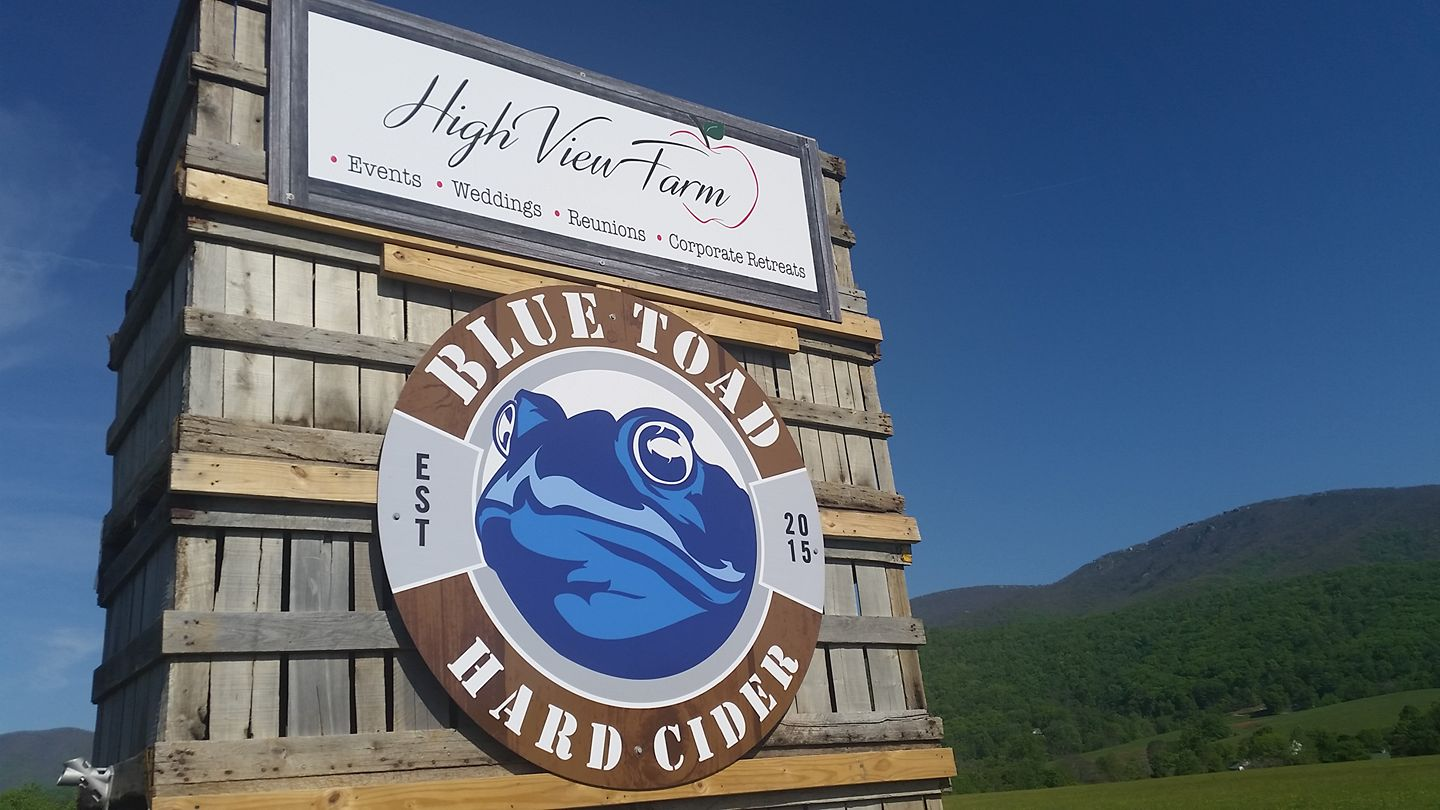 A photo of a Yaymaker Venue called Blue Toad Hard Cider- Roseland located in Roseland, VA